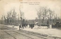 02 - ANIZY PINON - La Gare Coté Des Voies - France