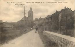 04 - THORAME HAUTE - Place De L'eglise En 1930 - France