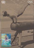 UNO Vienna 1996 Sport Und Umwelt / Olympic Games 1v Maxicard (42928) - Maximumkaarten