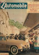 Revue Ancienne L'Automobile 1951 N°  62 Le Marché Aux Fleurs De Nice Sourit à L'Aronde 1951 - Auto/Motorrad