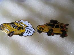 PIN'S  2  CITROEN  RALLYE RAID - Rallye