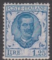 Italy S 202 1926 King Victor Emmanuel III, Lire 1.25, Mint Hinged - 1900-44 Vittorio Emanuele III