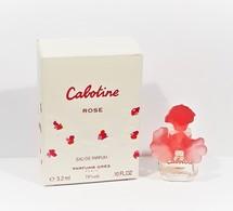 Miniatures De Parfum     CABOTINE  ROSE   De  GRÈS   EDP    3.2  Ml +  Boite - Miniatures Femmes (avec Boite)