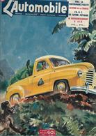 Revue Ancienne L'Automobile 1951 N°  59 Vers La Performance Rallye L'avenir De La Course 1951 - Auto/Motorrad