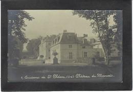 CPA Essonne 91 Saint Chéron Chateau Du Marais Carte Photo RPPC Non Circulé - Saint Cheron