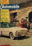 Revue Ancienne L'Automobile 1953 N° 86 La 4ch Renault Autobleu Carrossée Par Ghia 1953 - Auto/Motorrad