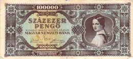 100 000 Pengö 1945 VF/F (III) - Ungarn