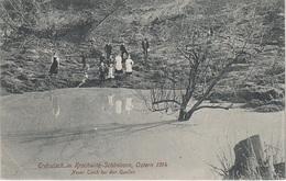 AK Krochwitz Schönborn Chrochvice Krasny Studenec Erdrutsch 1914 Neuer Teich A Tetschen Bodenbach Decin Hopfengarten - Sudeten