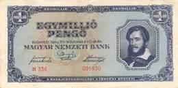1 Mio Pengö 1945 VF/F (III) - Ungarn
