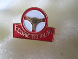 PIN'S   ECURIE DU PLAN - Rallye