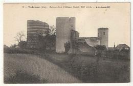 01 - Trévoux - Ruines D'un Château Féodal - BF 72 - 1920 - Trévoux