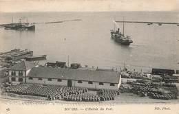Algerie Bougie Entrée Du Port Bateau Entrepot Compagnie Generale Transatlantique - Bejaia (Bougie)