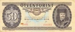 50 Forint 1989 VF/F (III) - Ungarn