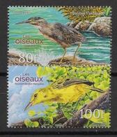 Polynésie - 2016 - N°Yv. 1137 à 1138 - Oiseaux / Birds - Neuf Luxe ** / MNH / Postfrisch - Papagayos