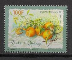 Polynésie - 2017 - N°Yv. 1155 - Fruits / Orange - Neuf Luxe ** / MNH / Postfrisch - Frutas