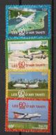 Polynésie - 2018 - N°Yv. 1176 à 1180 - Aviation / Air Tahiti - Neuf Luxe ** / MNH / Postfrisch - Französisch-Polynesien