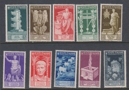 Italy S 416-425 1937 Bimillenary Birth Of Augustus, Mint Never Hinged - 1900-44 Vittorio Emanuele III