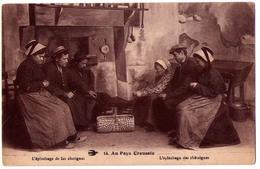 """4798 - Camp De La  ( 23 ) - L""""épluchage Des Chataignes - L'H. N°14 - - France"""