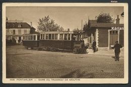 Gare Du Tramway De Mouthe - Collection Le Jura - Brun & Cie N° 1626 - Voir 2 Scans - Pontarlier
