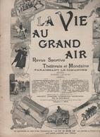 LA VIE AU GRAND AIR 27 05 1900 - JEU DE LA SOULE NORMANDIE - AVIATEUR ROZE - PANHARD & LEVASSEUR IVRY - AGENTS PLONGEURS - Livres, BD, Revues