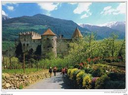 CASTELBELLO (BZ):    VAL  VENOSTA  -  PER  LA  SVIZZERA  -  FG - Castelli
