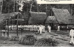"""MARONI - Le Chantier Pénitentiaire Forestier - """"Le Nouveau Camp"""" - Prison"""