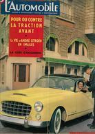 Revue Ancienne L'Automobile 1954 N°95 La Comète Monte-Carlo équipée Du Moteur Mistral 1954 - Auto/Motorrad