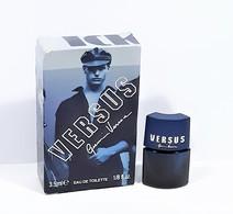 Miniatures De Parfum VERSUS De GIANNI VERSACE   VIDE    EDT    3.5  Ml    +  Boite - Miniatures Hommes (avec Boite)