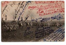RARETE : Annotations De La Troupe * MARECHAL FOCH * METZ * NOVEMBRE 1918 * 39è DIVISION * POLYGONE CHAMBIERE * - Guerre 1914-18