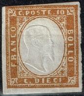 Italie - Sardaigne - 1855 - Y&T N° 11* Neuf Avec Trace De Charnière - Sardaigne