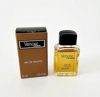 Miniatures De Parfum   VERSACE L'HOMME  De  VERSACE  10 Ml Edt  + Boite - Modern Miniatures (from 1961)