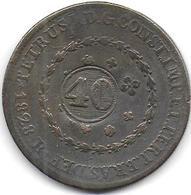 BRESIL - 40 / 80 R   1828 - Brésil