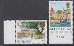 Guernsey 1991 Definitives 2v ** Mnh (42929D) - Guernsey