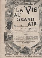 LA VIE AU GRAND AIR 03 06 1900 - MONTFERMEIL TIR A L'ARC & ARBALETE - MEULAN - FLEURET - EXPOSITION CANINE - COURSE ANES - 1900 - 1949