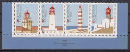 Portugal 1987 Lighthouses Mi#1723-1726 Mint Never Hinged Strip - Dreierstrefen - Unused Stamps