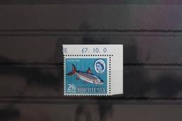 Rhodesien 34 ** Postfrisch Verschobener Aufdruck #SY090 - Zimbabwe (1980-...)