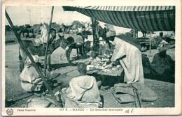MAROC - Scènes Et Types - Un Boucher Marocain. - Otros