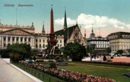 CPA - LEIPZIG - Vue De La Ville - Augustusplatz - Leipzig