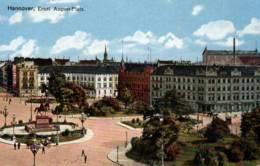 CPA - HANNOVER - Vue De La Ville - Ernst August-Platz - Hannover