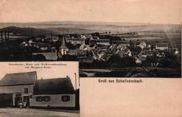 CPA - SCHALLODENBACH - Gruss Aus ... Manufactur Von Bernard Klein - Germany