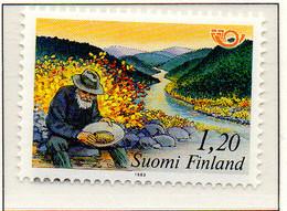PIA  -  FINLANDIA  -  1983  :  Norden - Viaggi Nel Nord -   (Yv   886-87) - Vacanze & Turismo