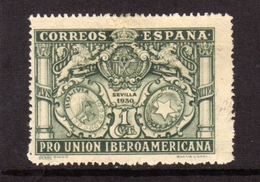 SPAIN ESPAÑA SPAGNA 1930 COAT OF ARMS BOLIVIA PARAGUAY STEMMA CENT. 1c MLH - Nuovi