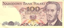 100 Zloty Polen VF/F (III) 1986 - Polen