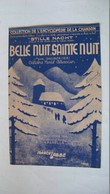 Belle Nuit, Sainte Nuit - Franz Gruber - Ed. Marcel Labbé - Corales