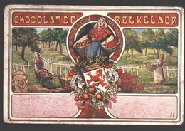 Borgloon / Looz - Chocolat De Beukelaer - Pays De Looz / Land Van Looz - Enkele Rug - Reclame / Publicité - Borgloon