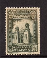 SPAIN ESPAÑA SPAGNA 1930 COLOMBIA PAVILION PADIGLIONE CENT. 10c MLH - Nuovi
