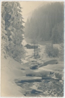 Kalter Wintertag - Photo E. Gyger Adelboden - BE Berne