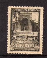 SPAIN ESPAÑA SPAGNA 1930 ECUADOR EXHIBITION PAVILION PADIGLIONE CENT. 5c MLH - 1889-1931 Regno: Alfonso XIII
