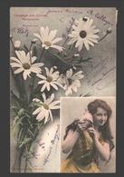 Langage Des Fleurs - Marguerite - 1904 - Fleurs