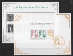 France 2013 Blocs 133 Et F4781 Marianne De La Jeunesse état Luxe - 2008-13 Marianne De Beaujard